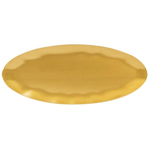 """Thunder Group Gold Pearl, 24"""" x 10"""" Rectangular Melamine Platter (RF2024G)"""