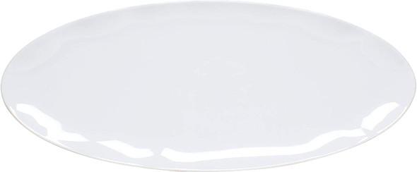 """Thunder Group White Pearl, 30"""" x 12"""" Rectangular Melamine Platter (RF2030W)"""