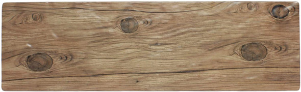 """Thunder Group SB520S 20.75"""" x 6.25"""" Sequoia Faux Wood Melamine Serving Board"""