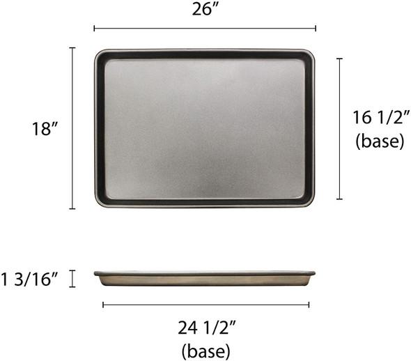 Full Size, 18 Gauge Aluminum Non-Stick Sheet Pan (ALSP1826D)