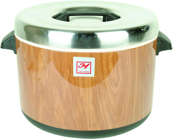 Thunder Group Wood Grain Insulated Sushi Rice Pot