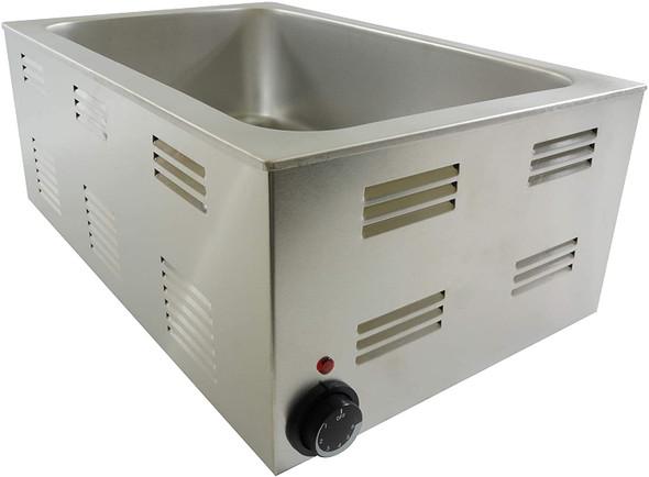 "20"" x 12"" Electric Countertop Food Warmer SEJ81000C"