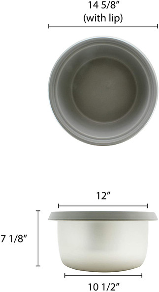 Inner Pot (SEJ50000T) Rice Cooker Replacement Part