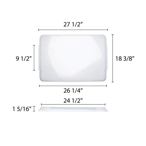 Full Size Sheet Pan Cover - PLSP1826C