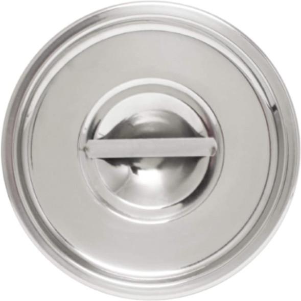 8.24 Qt Stainless Steel Bain Marie Pot Cover (SLBM012)