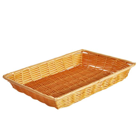 """14"""" x 10"""" x 2"""" Rectangular Woven Basket"""