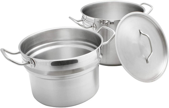 Stainless Steel Double Boiler (3-Piece Set)