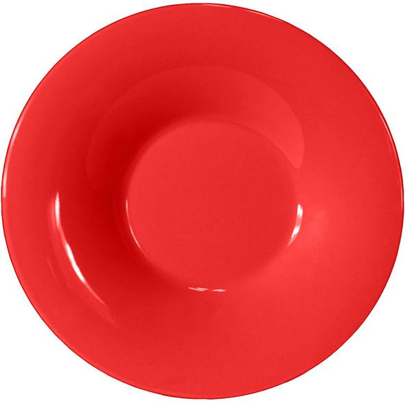 12 oz Melamine Pure Red Pasta Bowl (CR5810PR)