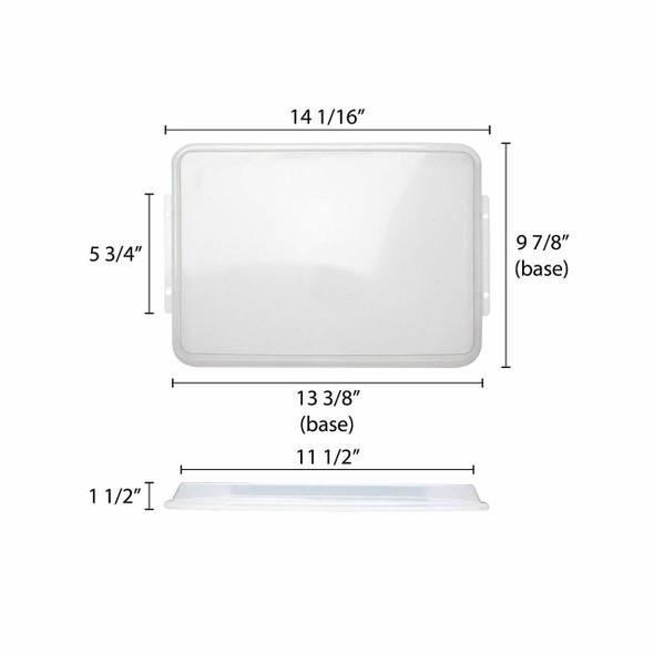 Half Size Sheet Pan Cover - PLSP1813C