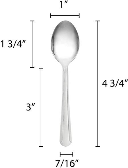 DOMINION Stainless Steel Demitasse/Sugar Spoon (SLDO001)