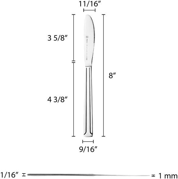 DOMINION Stainless Steel Dinner Knife (SLDO009)