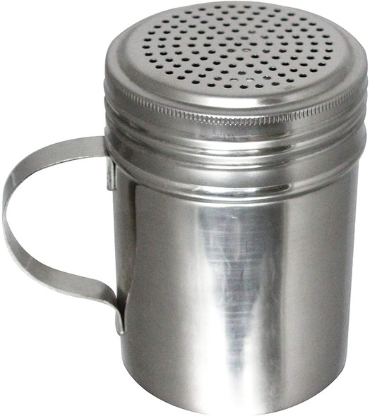 10 oz Stainless Steel Dredge/Shaker with Handle