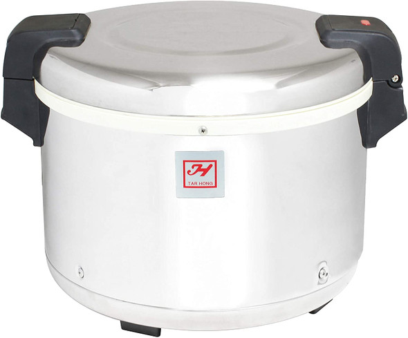 Thunder Group SEJ20000 30 Cup Rice Warmer with Mirror Grain Finish