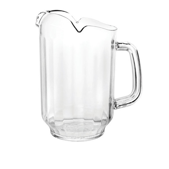 Clear Plastic Water Pitcher - 64 oz (PLWP064CL)