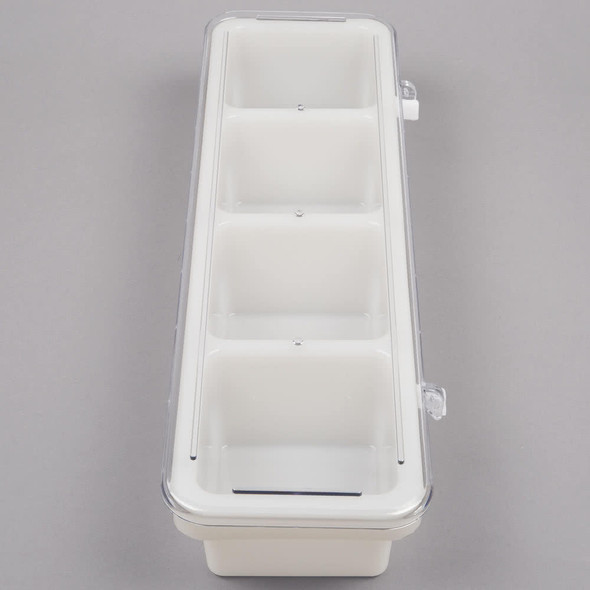 Thunder Group PLBC004P 4 Compartment Bar Caddy w/ Cover