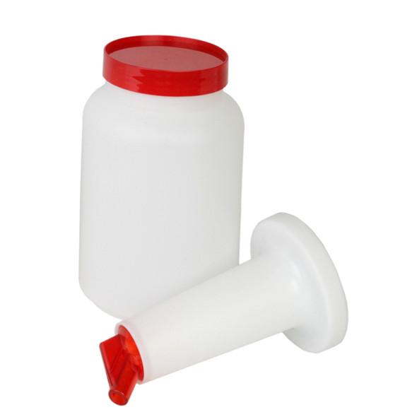 2 Qt Color Spout Pour Bottles