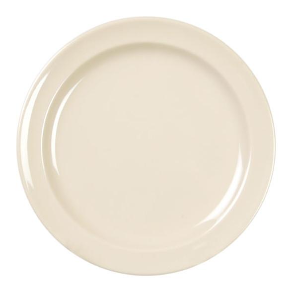 "Nustone 9"" Narrow Rim Melamine Plate"