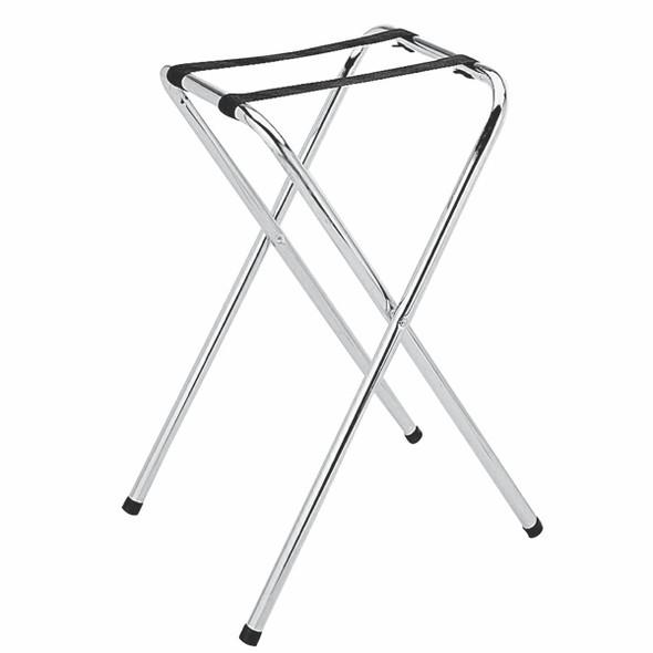 Chrome Folding Tray Stand