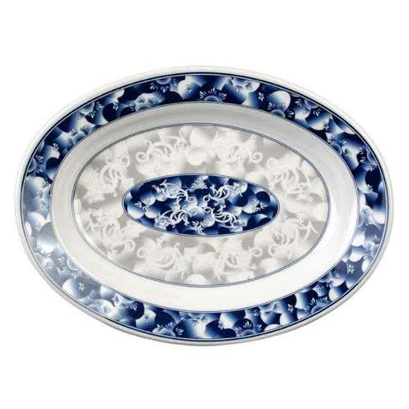 Deep 7 oz Oval Melamine Platter