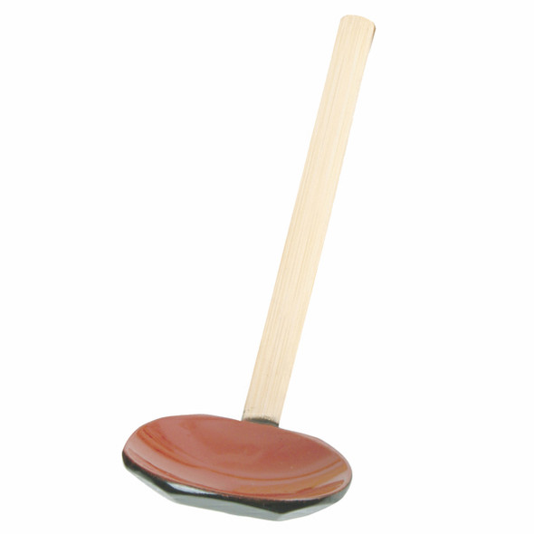 Bamboo Handle Serving Spoon