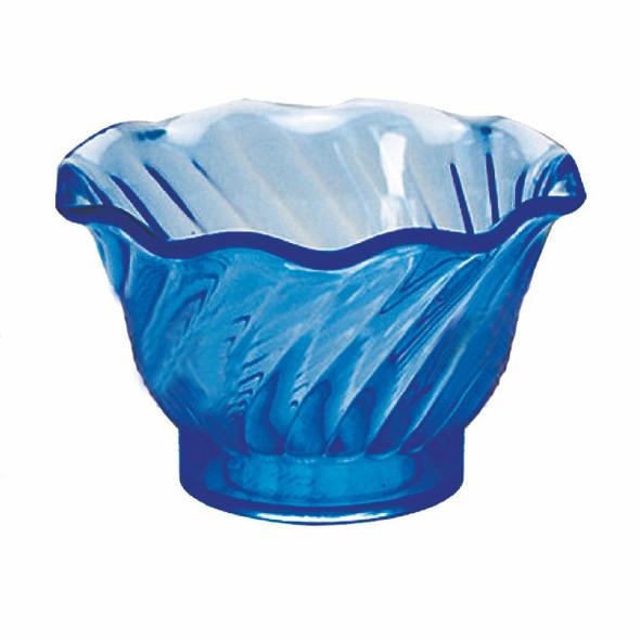 5 oz Dessert Dish - Blue