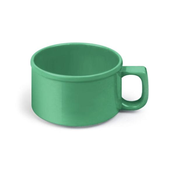 10 oz Green Melamine Soup Mugs (CR9016GR)