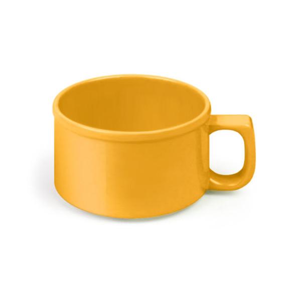 10 oz Yellow Melamine Soup Mugs (CR9016YW)