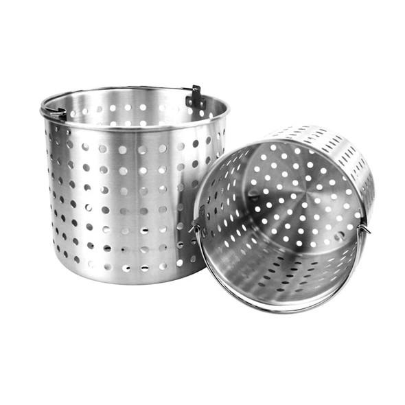 Thunder Group Aluminum Steamer Baskets