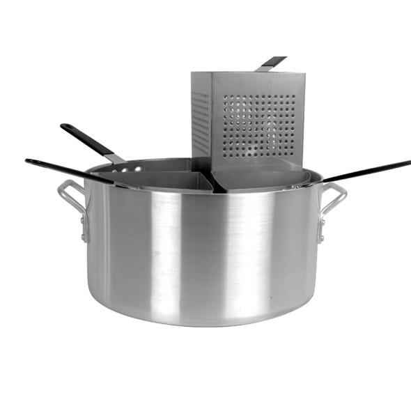 20 Qt Aluminum 5-Piece Pasta Cooker Set