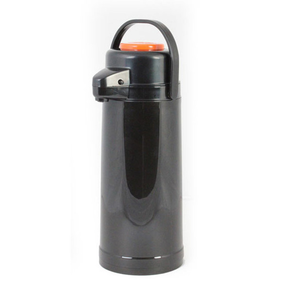 Push Button Top Glass Lined Plastic Body Airpot