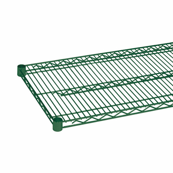 14 Inch Deep Epoxy Coated Wire Shelf