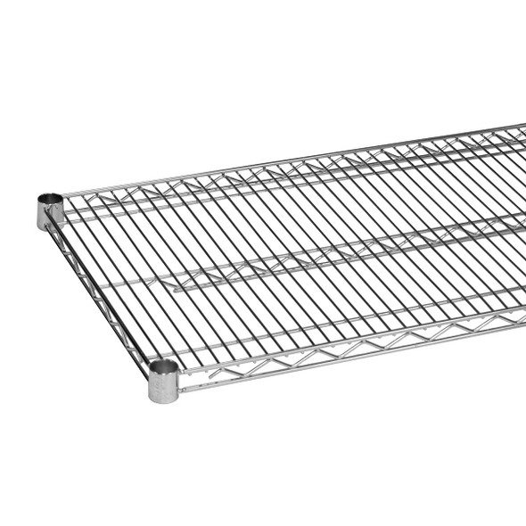14 Inch Deep Chrome Plated Wire Shelf
