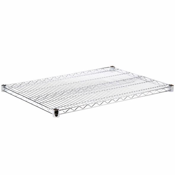 18 Inch Deep Chrome Plated Wire Shelf
