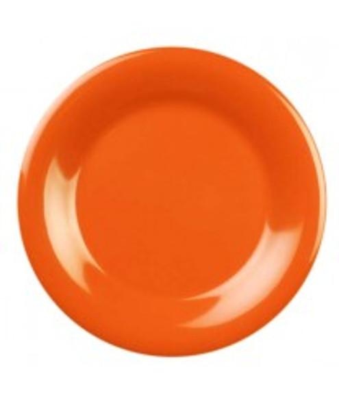 "5.5"" Wide Rim Melamine Color Plate (CR005)"