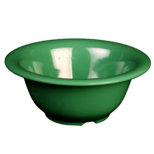 Thunder Group Green 10 oz Melamine Color Soup Bowl (CR5510GR)