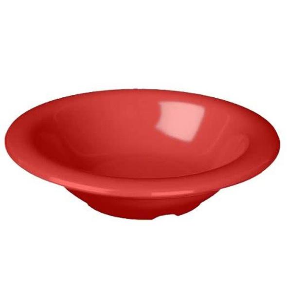 8 oz Melamine Pure Red Salad Bowl (CR5608PR)