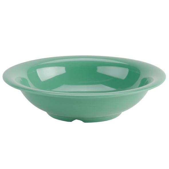 Thunder Group CR5716GR Green 18 oz. Melamine Soup Bowl