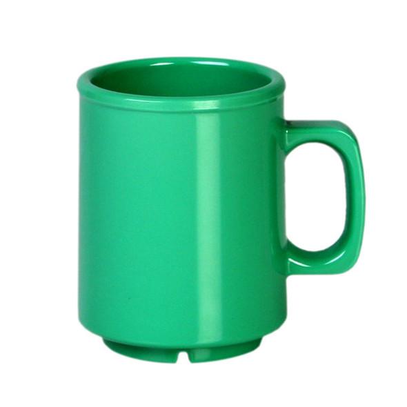 8 oz Melamine Green Coffee Mug (CR9010GR)