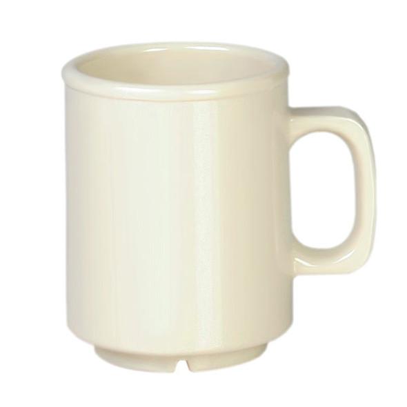8 oz Melamine Ivory Coffee Mug (CR9010V)