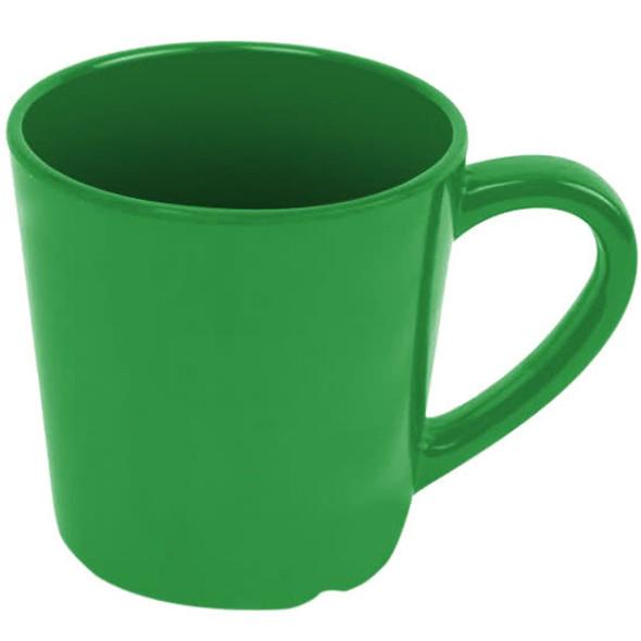 Thunder Group Green 7 oz Melamine Color Coffee Mug (CR9018GR)