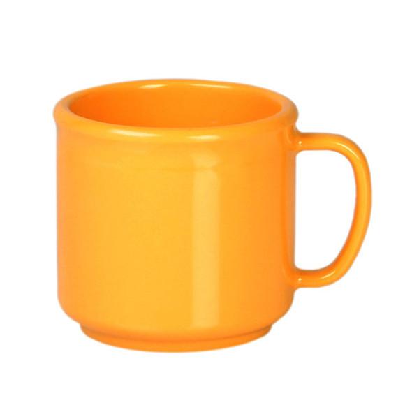 10 oz Melamine Yellow Coffee Mug (CR9035YW)