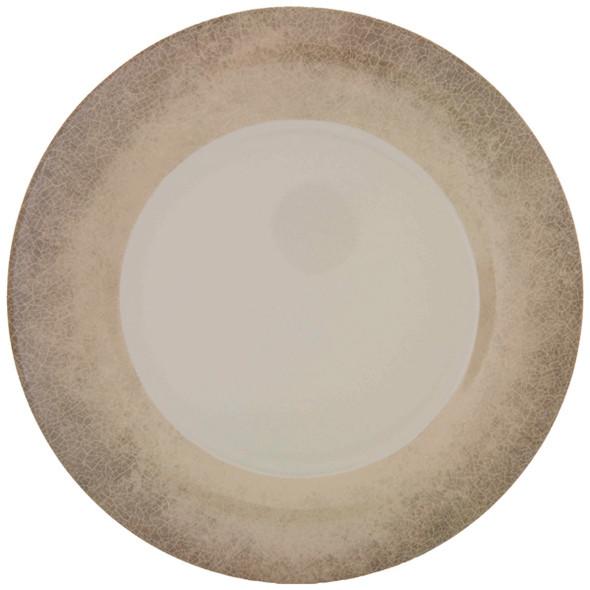 "9.25"" Melamine Wide Rim Graham/Jazz Plates"