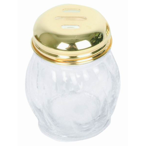6 oz Glass Slotted/Perforated Cheese Shaker