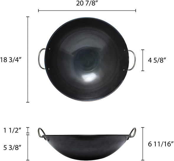 "(Made In Taiwan) 19"" Curved Rim Iron Woks (IRWC001)"