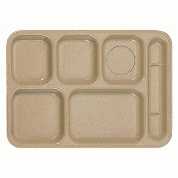 Melamine Compartment Food Tray