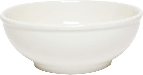 Thunder Group PH5005V 19 oz. Ivory Melamine Pho Noodle Bowl