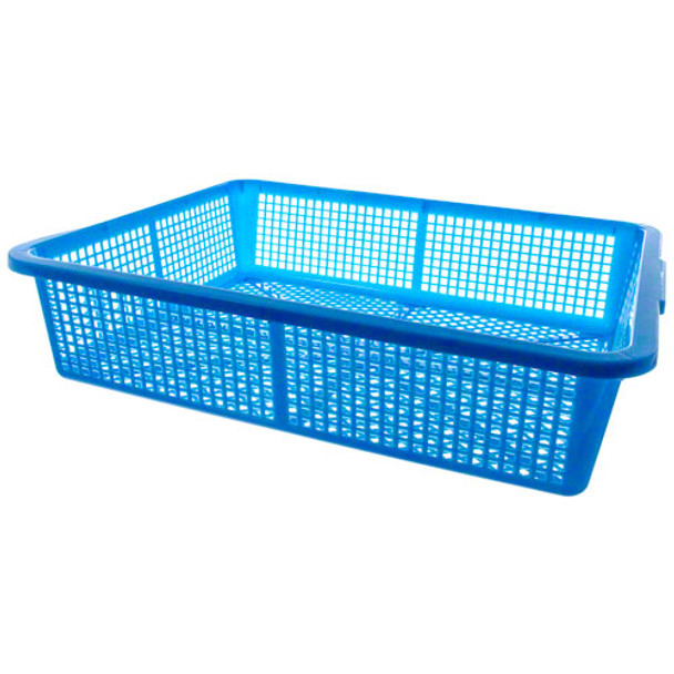 Durable Polyethylene Colander Basket - Blue