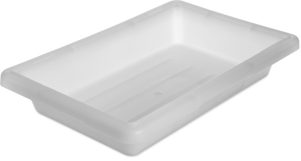 "12"" X 18"" X 3 1/2"", 1.75 GAL. FOOD STORAGE BOX, PP, White"