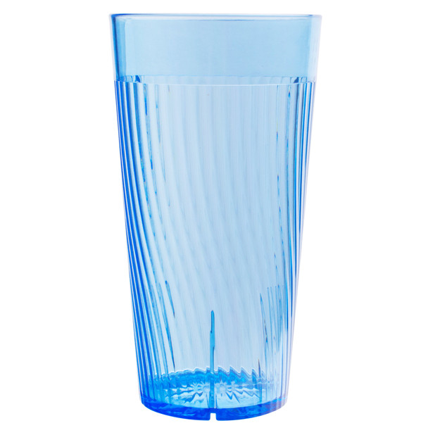 Belize 24 oz Polycarbonate Tumbler Glass (PLPCTB324BL) Blue