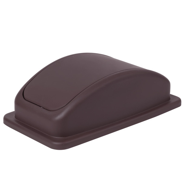 23 Gallon Slim Trash Can Lid - Brown (PLTC023BL)